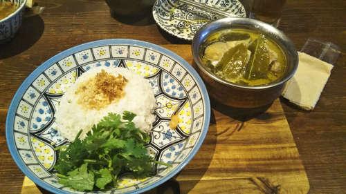 Asian Cuisine A.O.C.(麻布十番)鶏肉と茄子のグリーカレー�@201908.jpg