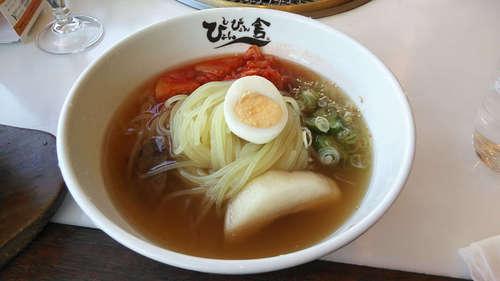 ぴょんぴょん舎GINZA UNA(銀座)盛岡冷麺 中辛.jpg