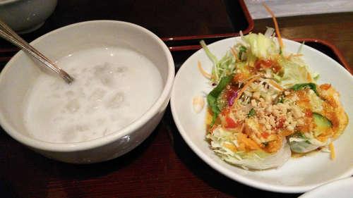ジャスミンタイ(四ッ谷)デザート+生春巻き.jpg