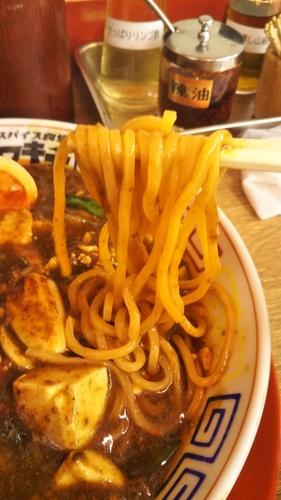 スパイス食堂サワキチ(築地)咖喱麻婆麺 大盛�B201910.JPG