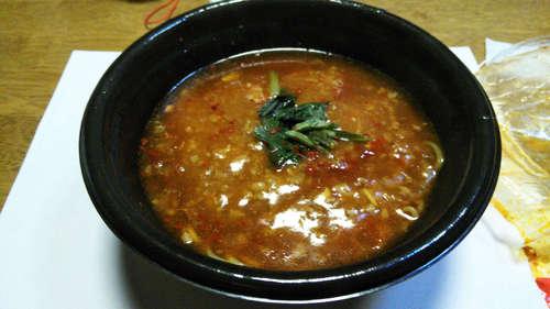 ピリ辛玉子スープの辛麺(ファミリーマート)201810�A.jpg