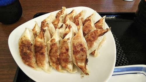 リンガーハット(川口末広)ぎょうざ定食+Aセット�A201907.jpg