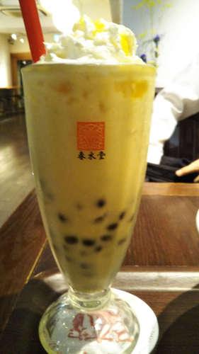 台湾カフェ 春水堂(代官山)タピオカマンゴーミルクティー�@201909.jpg