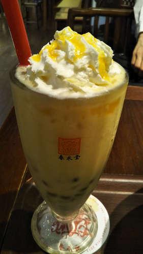 台湾カフェ 春水堂(代官山)タピオカマンゴーミルクティー�A201909.jpg