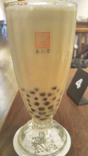 台湾カフェ 春水堂(代官山)タピオカ豆乳紅茶201907.jpg