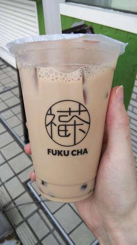 福茶(浅草)タピオカミルクティーM�@201908.JPG