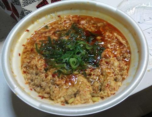 鬼旨辛スープのかき玉ラーメン(セブンイレブン)�A201907.jpg